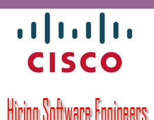 Cisco Intern For The Role Of Software Engineer in Bangalore.Cisco is the largest and most popular company in the networking hardware providers and n/w solutions.