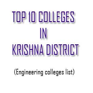 top ten colleges in krishna district