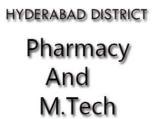 HYDERABAD-DISTRICT-M-TECH-COLLEGES-PHARMACY-COLLEGES