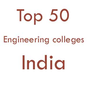 Top 50 engineering colleges in india