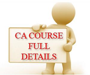 ca course details like duration, exams, syllabus, registration, etc
