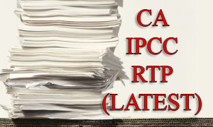 ca ipcc rtp (revision test papers)