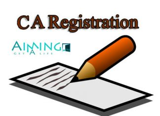 CA Registration (Chartered Accountant registration)