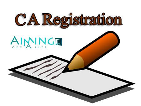 CA Registration (Chartered Accountant registration)