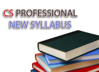 cs professional new syllabus