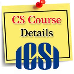 company secretary course details
