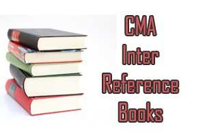 icwai cma intermediate reference books