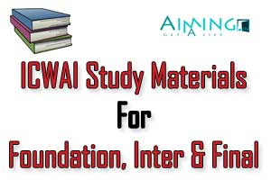 icwai study material download