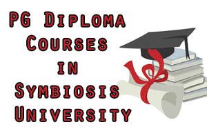 Post Graduate Diploma Courses in Symbiosis University