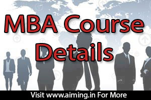 MBA Course Details