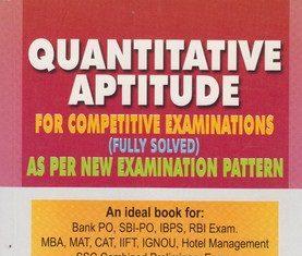 rs aggarwal quantitative aptitude PDF and free download