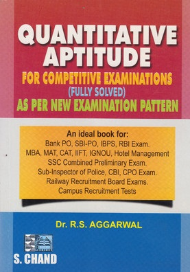 rs aggarwal quantitative aptitude PDF and free download