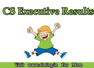 CS Executive Result | ICSI Result