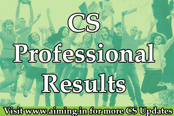 CS Professional Result | ICSI Results