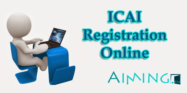 ICAI Online Registration for CPT, IPCC and Final