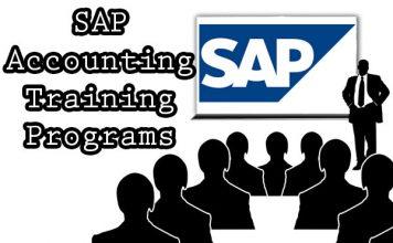 SAP Accounting Training Details