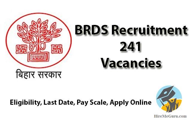 BRDS recruitment