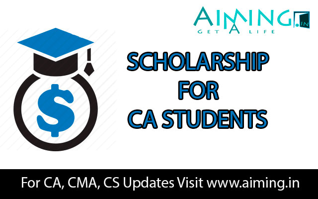 ICAI Scholarship for CA Students