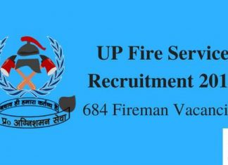 UP Fire Service Recruitment 2016