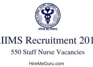 AIIMS Recruitment Apply Online at www.aiimsexams.org