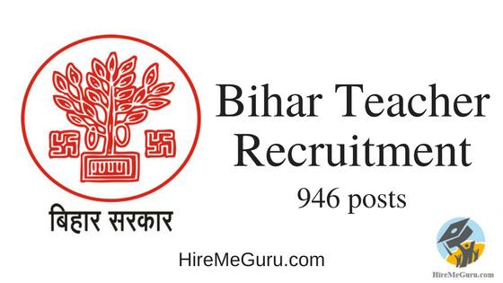 Bihar Teacher Recruitment Apply Online at bhojpur.bih.nic.in