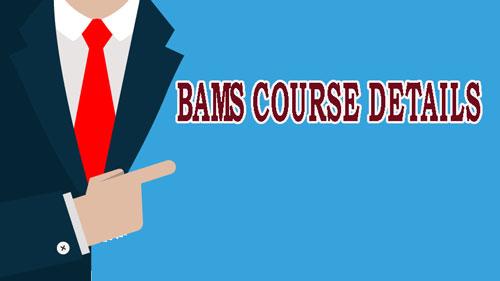 BAMS COURSE DETAILS