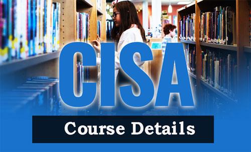 CISA Course Details