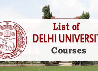 Delhi University Courses Details