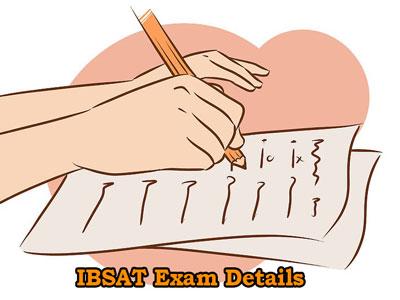 IBSAT Exam Details