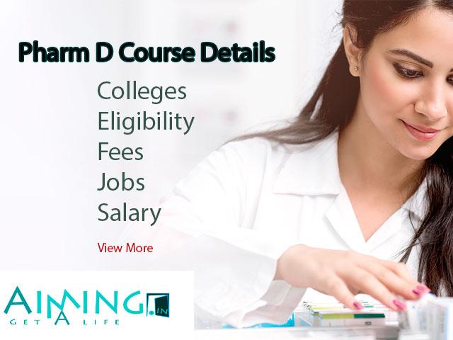 Pharm D Course Details