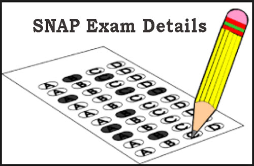 SNAP Exam Details