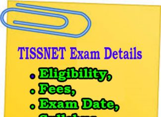 TISSNET Exam Details