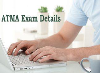 ATMA Exam Details