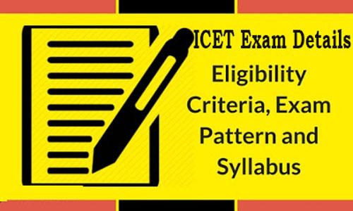ICET Exam Details
