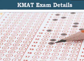 KMAT Exam Details