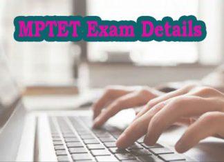 MPTET Exam Details