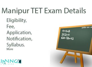 Manipur TET Exam Details