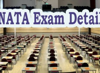 NATA Exam Details