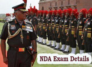 NDA Exam Details