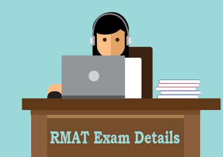 RMAT Exam Details