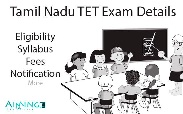 TN TET Exam Details