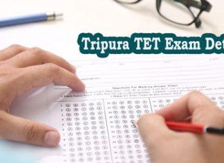 Tripura TET Exam Details