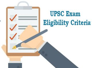 UPSC Exam Eligibility Criteria