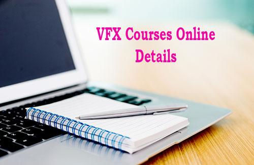 VFX Courses Online Details