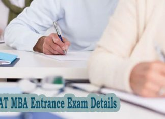 VMAT MBA Entrance Exam Details