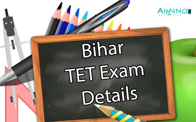 Bihar TET Exam Details