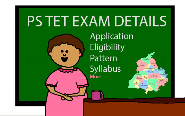 PSTET EXAM DETAILS