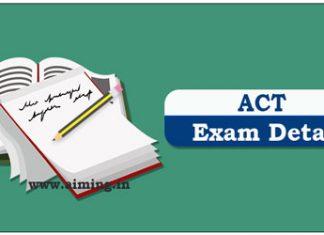 ACT Exam Details