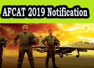AFCAT Notification
