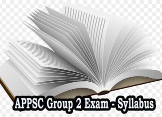 APPSC Group 2 Exam Syllabus